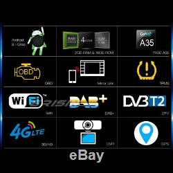 Android 9.0 Autoradio Bluetooth GPS DAB+ TPMS DVR USB RDS TNT CD Seat IBIZA Navi
