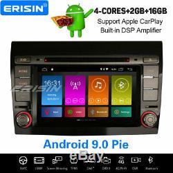 Android 9.0 Autoradio DAB+ Navi Carplay DSP TPMS OBD2 Canbus TNT WiFi FIAT BRAVO