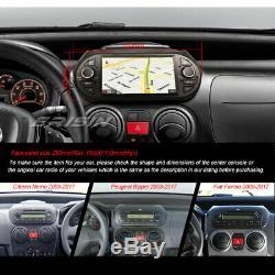 Android 9.0 Autoradio DAB+ Navi TNT OBD Fiat Fiorino Citroen Nemo Peugeot Bipper