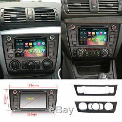 Android 9.0 Autoradio Navi DAB+CD Buetooth+WIFI GPS for BMW 1 Series E81 E82 E88