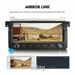 Android 9.0 Autoradio Navi GPS DAB+BT USB BMW 3 Series E46 M3 320 ROVER 75 MG ZT