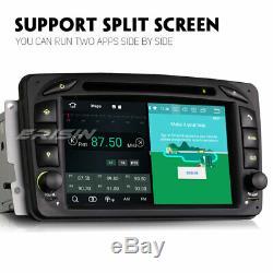 Android 9.0 DAB+ Autoradio Mercedes Benz C/CLK/G Class W203 W209 TNT 8-Core Navi