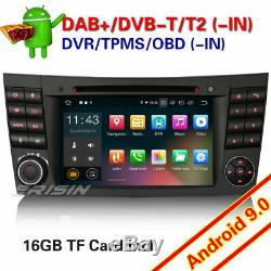 Android 9.0 DAB+Navi OBD CD WiFi TNT Autoradio Mercedes Benz Classe E/CLS/G W211