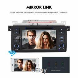 Android 9.0 GPS Autoradio DVD BT TNT BMW 3 Series E46 M3 320 ROVER 75 MG ZT Navi