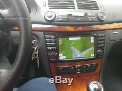 Android 9.0 Octa Core de voiture GPS de navi stéréo Benz E W211/CLS W219/G W463