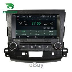 Android 9.0 Octa Core de voiture GPS de navi stéréo Mitsubishi Outlander 06-12