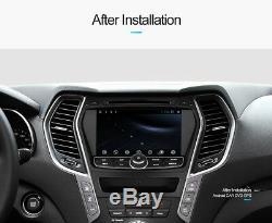 Android 9.0 Octa Core de voiture Navi GPS stéréo Hyundai IX45/Santa Fe 2013-2014