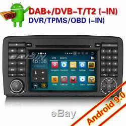 Android 9.0 PX5 Autoradio Mercedes Benz W251 R Class DAB+ TNT TNT TPMS Navi 7981