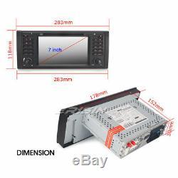 Android 9.0 PX5 BMW E53 E39 Autoradio X5 5er M5 GPS DAB+ Bluetooth TNT Navi 7939
