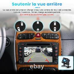 Android Autoradio GPS Navi DVD WiFi Pour Mercedes Benz CLK -Class W209 C209 W463