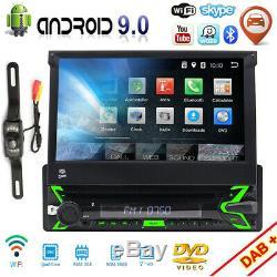 Android WiFi Autoradio Avec Navi Bluetooth Navigation 1DIN DAB écran Tactile DVD