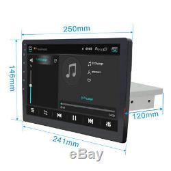 Autoradio 10.1'' Adjustable Android 8.1 Wifi Stéréo 1 Din GPS Navi Touchscreen