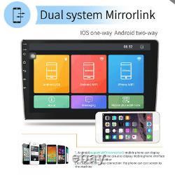 Autoradio 10.1'' Android 9.1 GPS Navi Bluetooh USB FM WIFI 2 Din Écran Tactile