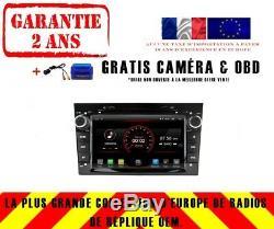Autoradio 7 DVD Gps Navi Android 9.1 Dab+ Usb Wifi Opel Astra Zafira K6829 B