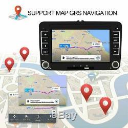 Autoradio 7 Pouces 2DIN Android 8.1 GPS NAVI FM pour GOLF 5V 6 PASSAT Varian nmy