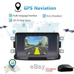 Autoradio 8 Android 8.1 GPS Navi Wifi 2 DIN Pour Renault Dacia Duster/Sandero