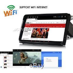 Autoradio 9 Android 7.1 GPS Navi DAB+ WiFi pour Golf 5 6 Tiguan Passat EOS Seat
