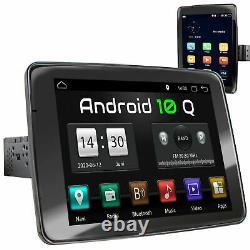 Autoradio 9 avec écran tactile Android10 4 Go Ram Navi Bluetooth rotatif