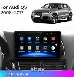 Autoradio Android 10 Audi Q5 Mmi 2G 3G 2008 2017 Commandes Volant Navi Wifi