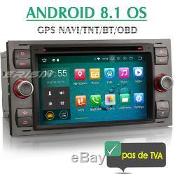 Autoradio Android 8.1 Ford Kuga Fiesta Transit Car Radio GPS Navi OBD2 BT TNT SD