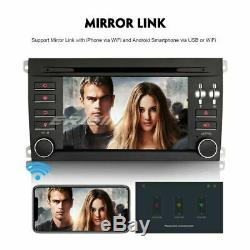 Autoradio Android 9.0 DAB+ TNT GPS Bluetooth DVD Navi USB RDS 4G Porsche Cayenne