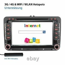 Autoradio Avec Android 10 Pour Vw Skoda Seat Navi DVD CD Usb Sd Wlan