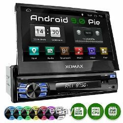 Autoradio Avec Android 9 2+32gb Ram Navi Gps DVD Bluetooth Wifi 3g/4g Dab+ 1din