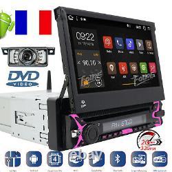 Autoradio Bluetooth 1 DIN GPS Ecran Tactile numérique 7 Pouces Navi Android 10.0