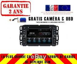 Autoradio DVD Gps Navi Android 8.0 4gb Dab+ Bt Carplay Hummer H1 H2 04-13 8723