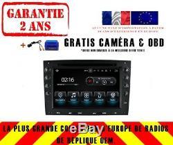 Autoradio DVD Gps Navi Android 8.0 4gb Dab+ Bt Carplay Renault Megane 03-08 8741