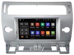 Autoradio DVD Gps Navi Android 8.1 Dab+ Bt Wifi Usb Pour Citroen C4 Rh5691s