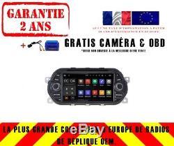 Autoradio DVD Gps Navi Android 8.1 Dab+ Bt Wifi Usb Pour Fiat Tipo Eaga Rh5336