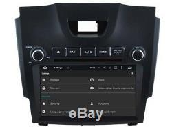 Autoradio DVD Gps Navi Android 8.1 Dab+ Pour Chevrolet S10 Isuzu D-max Rh5714b