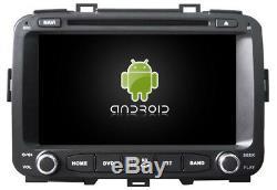 Autoradio DVD Gps Navi Android 8.1 Dab+ Usb Bt Wifi Kia Carens K6588