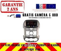 Autoradio DVD Gps Navi Android 8.1 Dab+ Usb Ford Ranger (12-14) K6462