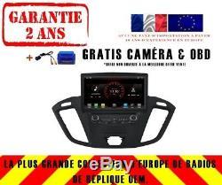 Autoradio DVD Gps Navi Android 8.1 Dab+ Usb Ford Tourneo Transit Connect K6456