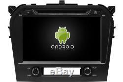 Autoradio DVD Gps Navi Android 8.1 Dab+ Usb Wifi Suzuki Grand Vitara 2016 K6662