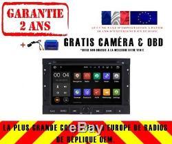 Autoradio DVD Gps Navi Android 8.1 Dab+ Wifi Pour Peugeot 3008 5008 09-11 Rh5738