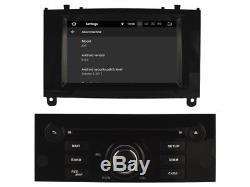 Autoradio DVD Gps Navi Android 8.1 Dab+ Wifi Usb Pour Peugeot 407 Rh5588 B