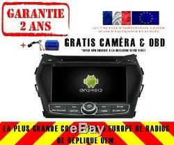 Autoradio DVD Gps Navi Android 9.0 4gb Bt Dab+ Wifi Hyundai Ix45 2013 Rv5798c