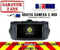 Autoradio DVD Gps Navi Android 9.0 4gb Bt Dab+ Wifi Suzuki Ciaz 2016 Rv5582
