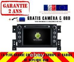 Autoradio DVD Gps Navi Android 9.0 4gb Bt Dab+ Wifi Suzuki Grand Vitara Rv5779
