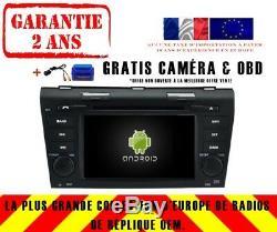 Autoradio DVD Gps Navi Android 9.0 4gb Dab+ Wifi Mazda 3 (04-09) Rv5791
