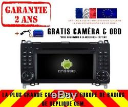 Autoradio DVD Gps Navi Android 9.0 4gb Dab+ Wifi Mercedes B-classe W245 Rv5716
