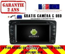 Autoradio DVD Gps Navi Android 9.0 4gb Dab+ Wifi Mercedes C/clk/g-classe Rv5513