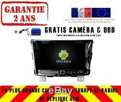 Autoradio DVD Gps Navi Android 9.0 4gb Dab+ Wifi Ssangyong Tivolan 2014 Rv7096