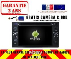 Autoradio DVD Gps Navi Android 9.0 Dab+ Kia Optima (05-10) Rio (05-11) Rv5742