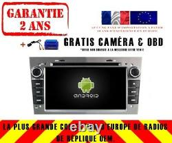 Autoradio DVD Gps Navi Android 9.0 Dab+ Opel Zafira(05-11) Corsa(06-11) Rv5312