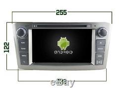 Autoradio DVD Gps Navi Android 9.0 Dab+ Toyota Avensis (05-07) Rv5587s