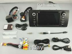 Autoradio DVD Gps Navi Android 9.0 Dab+ Wifi Bmw 5 X5 Séries E53 E39 Rv5765